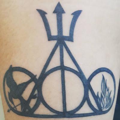 Resultado de imagem para tatuagens percy jackson