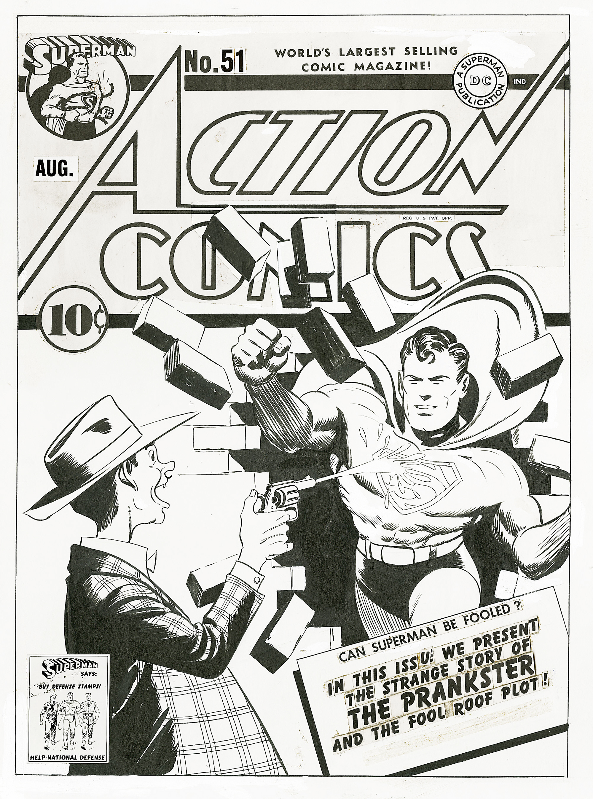 Read online Action Comics (1938) comic -  Issue #51 - 2