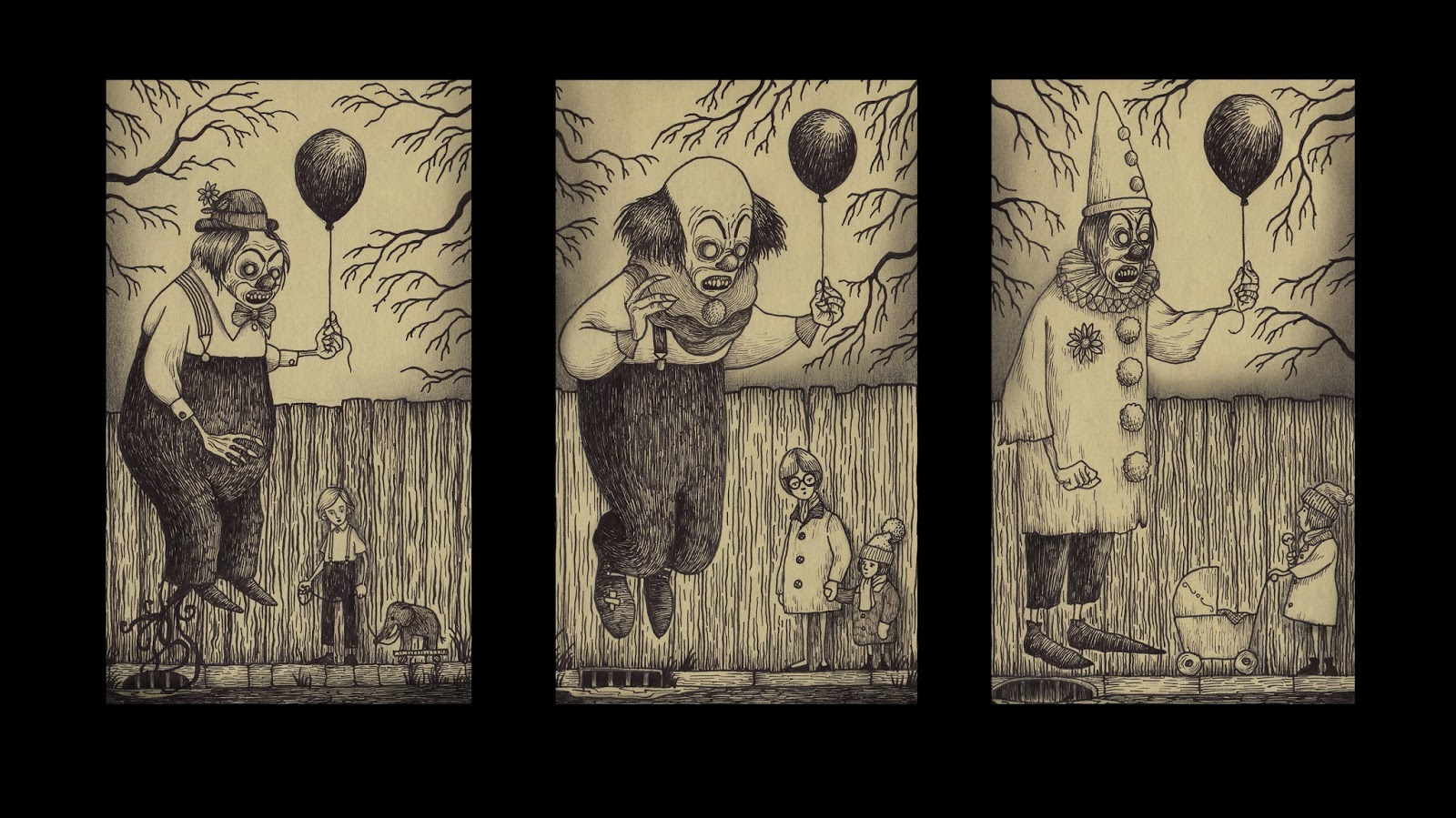 Monster Drawings by Don Kenn #artpeople