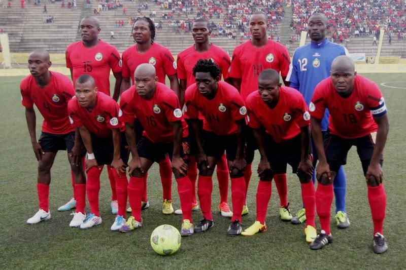 Image result for Seleção Moçambicana de Futebol 1980