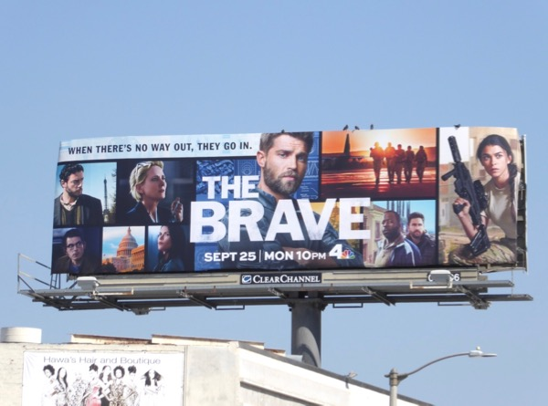 Brave series premiere billboard