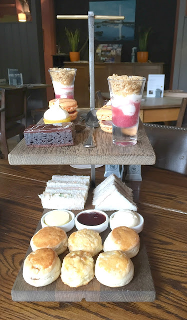 Afternoon tea for two at St Mary's Inn Morpeth Northumberland