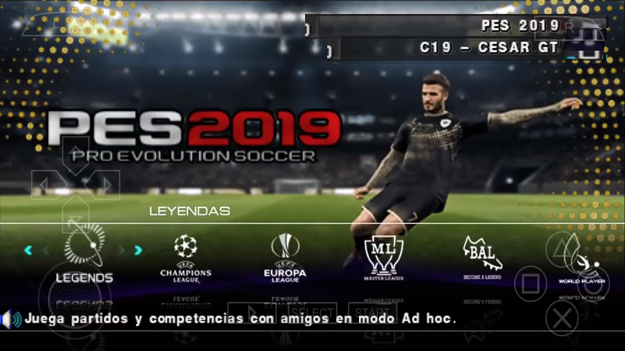 💣 Download game ppsspp pes 2019 lite | PES 2019 PPSSPP Jogress ISO