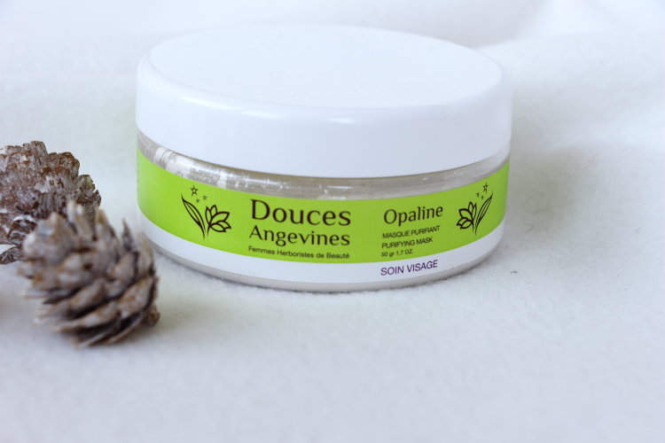 Douces angevines masque Opaline
