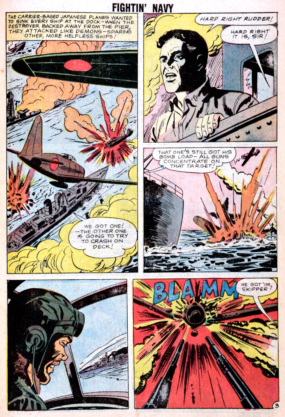 Read online Fightin' Navy comic -  Issue #85 - 11