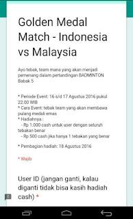 img 20160818 193044 Pulsa gratis Event tebakan pertandingan berhadiah dari Cashtree Updateterbaru