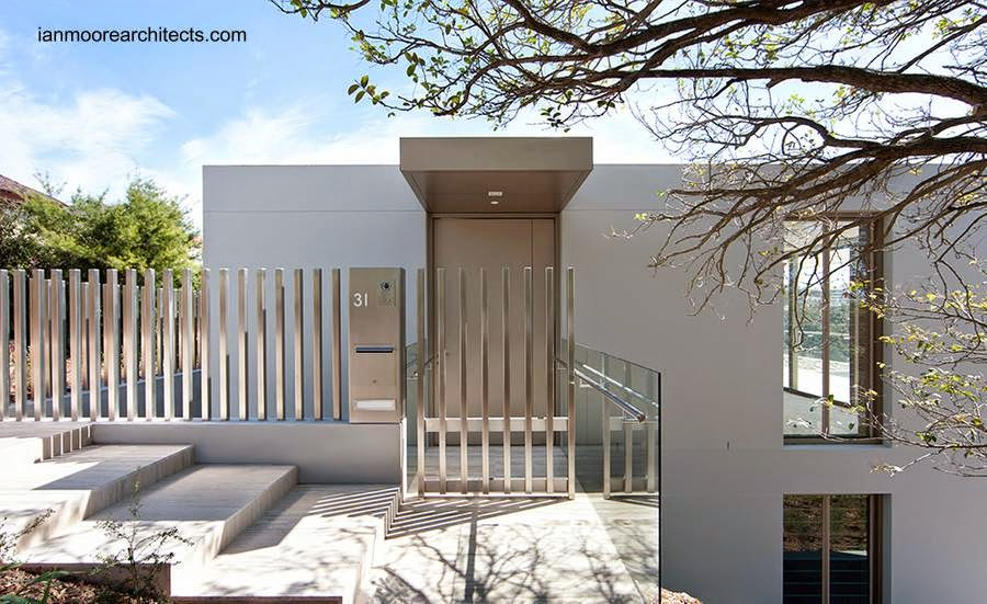 Casa residencial australiana estilo Minimalista