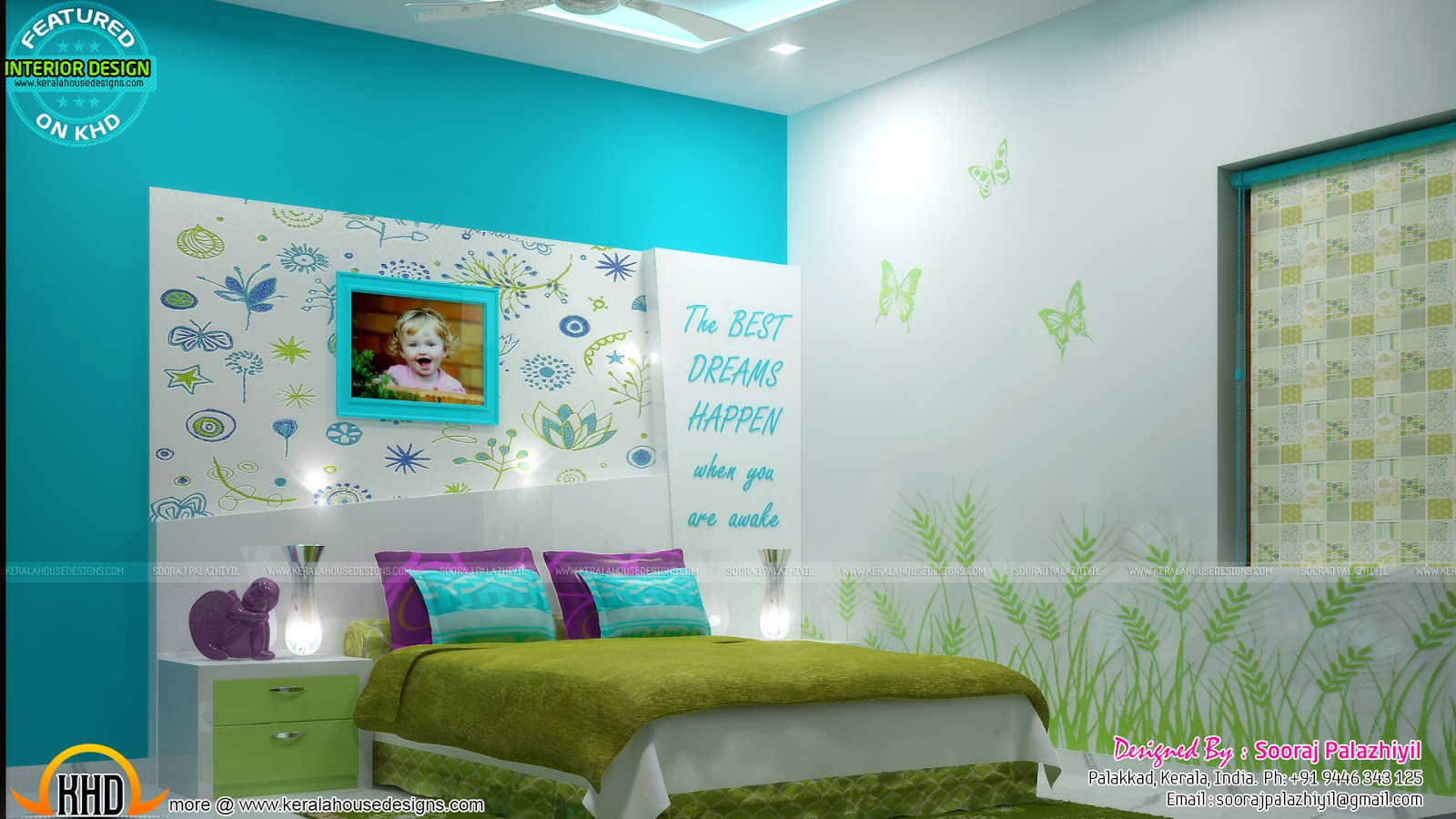 Teen Bedroom Interior Design Kid