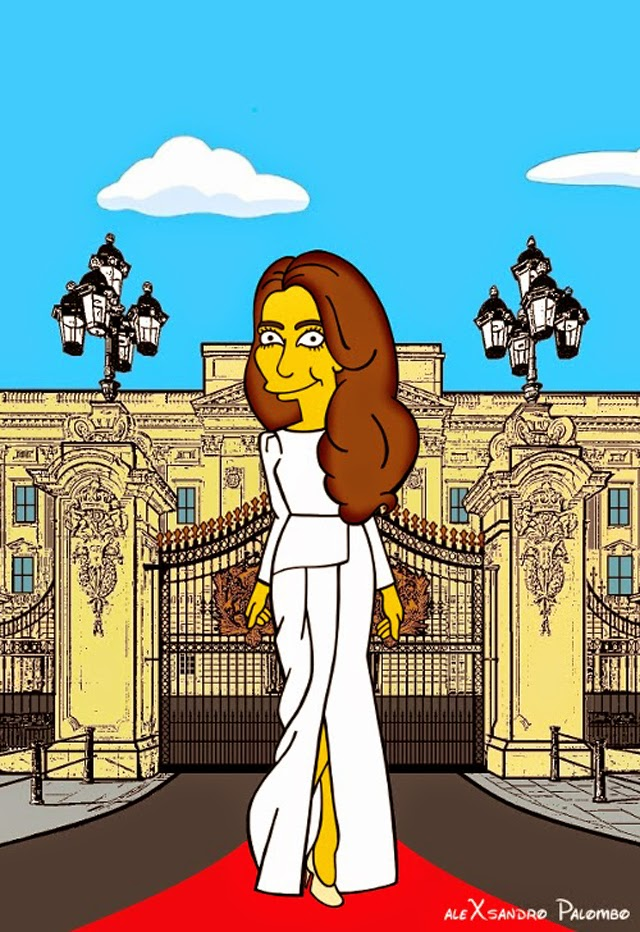 Kate Middleton The Simpsons