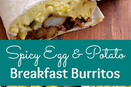 Recipe - SPICY EGG AND POTATO BREAKFAST BURRITOS