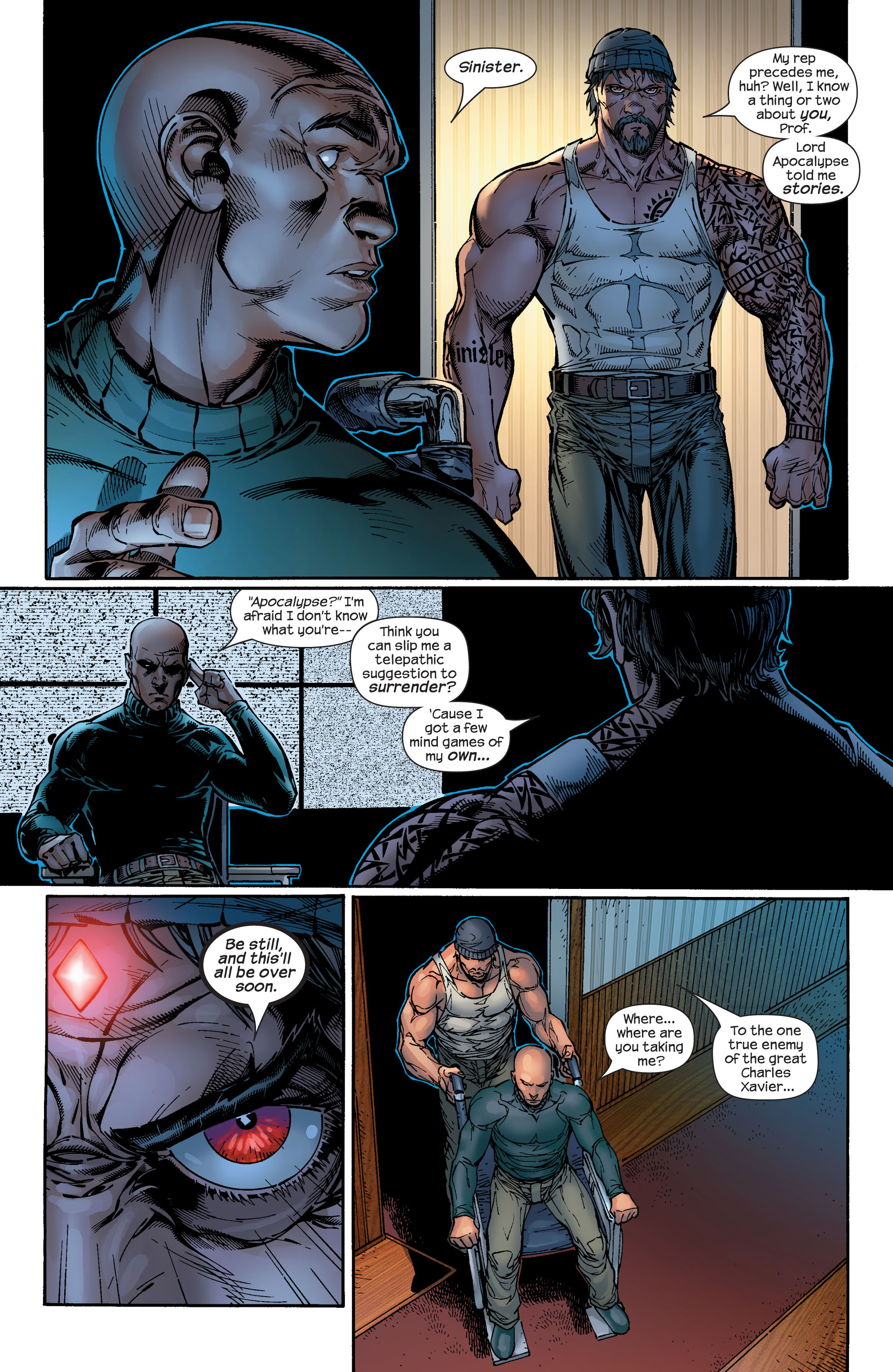 Read online Ultimate X-Men comic -  Issue #49 - 5