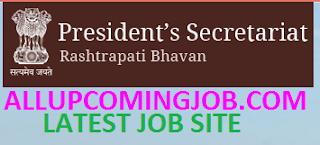 Rashtrapati Sachivalaya Jobs Recruitment 2017