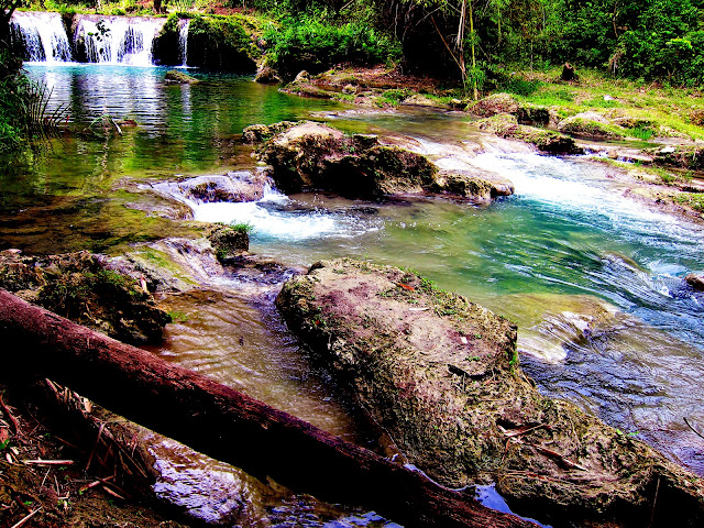 bowdywanders.com Singapore Travel Blog Philippines Photo :: Singapore :: Cambugahay Falls, Siquijor
