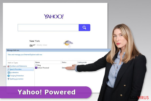 Que es Yahoo Powered  ¿Como eliminarlo?