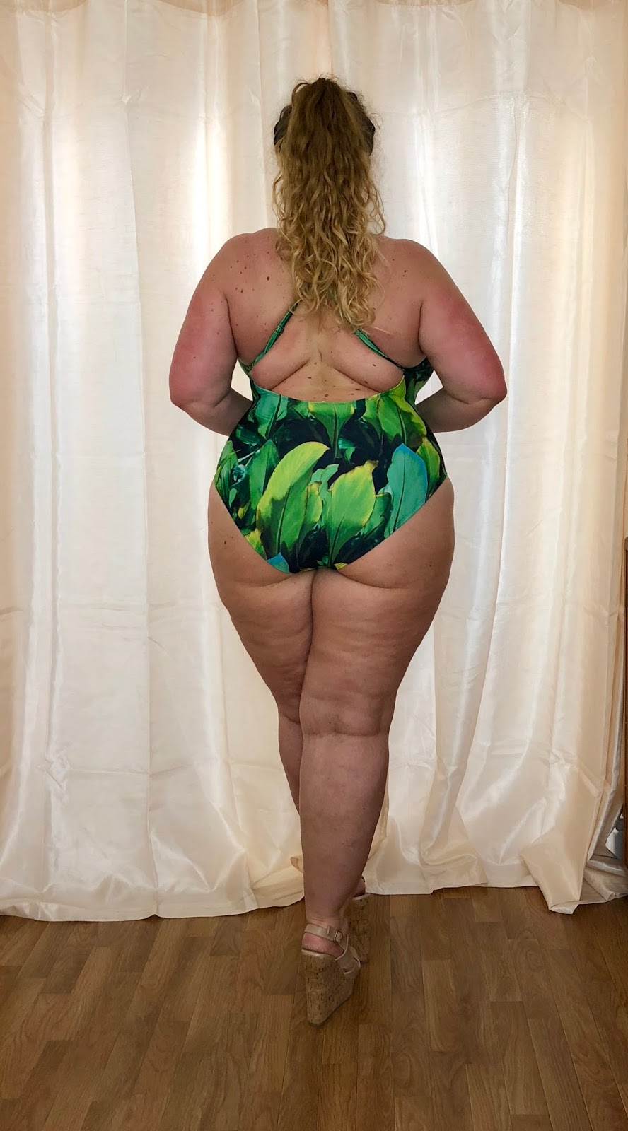 Forever 21+ Tropical Print Swimsuit