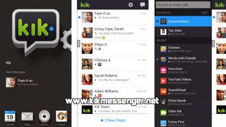 Kik Messenger en el nuevo Amazon Fire Phone