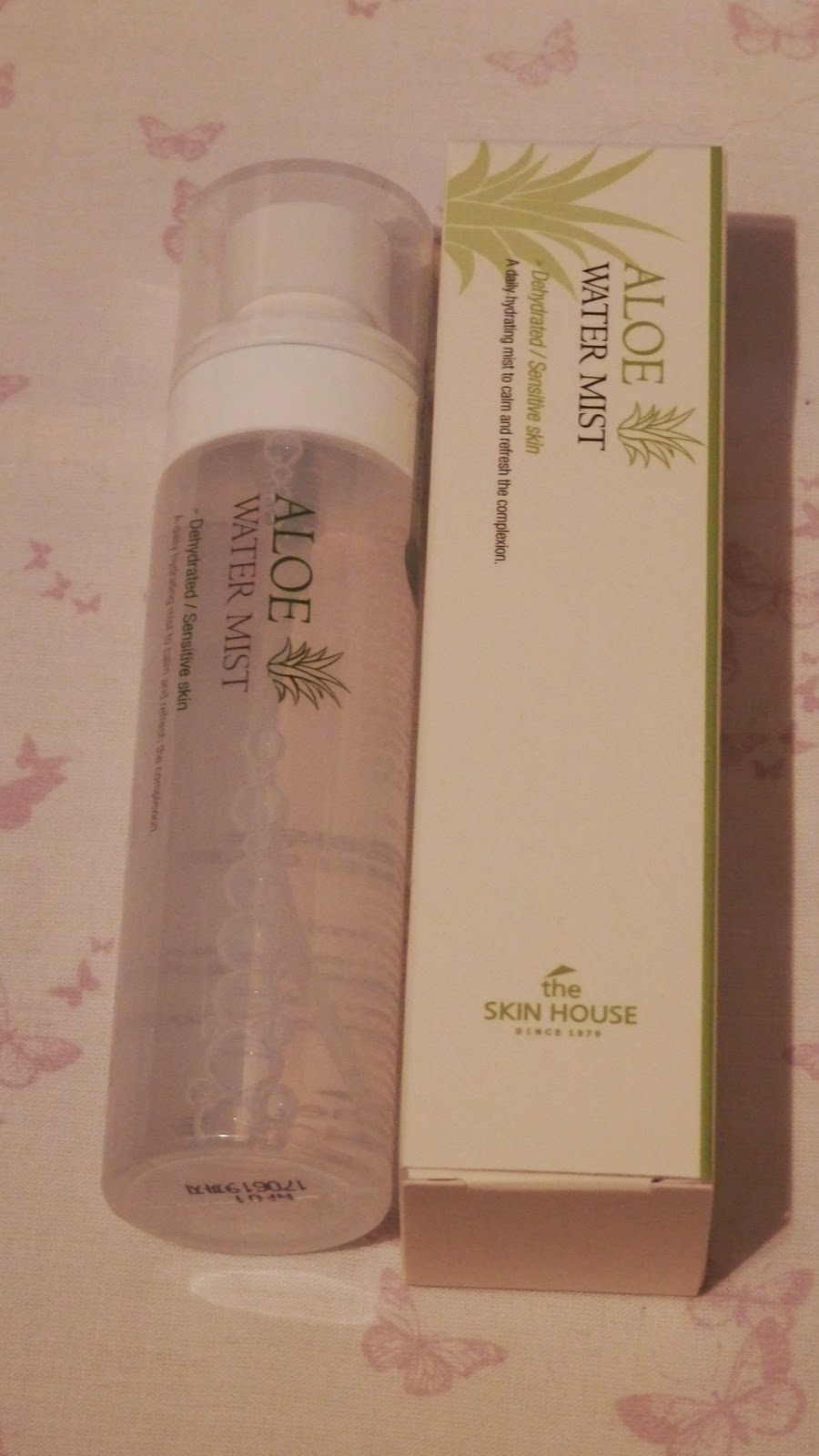 Memebox Special #13 Cooling Care The Skin House Aloe Water Mist