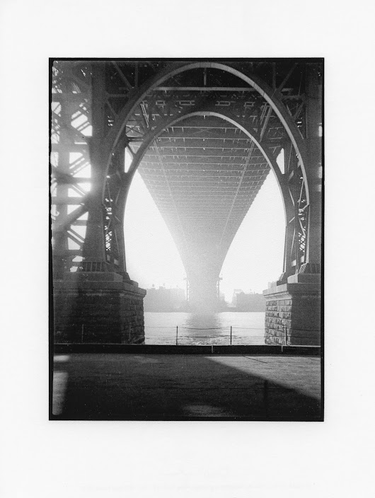 David Vestal, the East river and Sunrise over Brooklyn