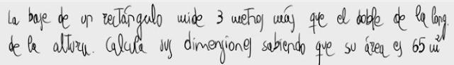 24. Problema de ecuaciones de segundo grado (rectángulo)