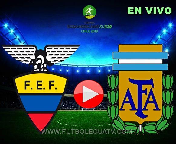 Ecuador y Argentina se miden en vivo desde las 17:50 horario local a jugarse en el estadio El Teniente por el Hexagonal del Sudamericano Sub-20, siendo el árbitro principal a mencionar luego con transmisión del canal autorizado GolTV.