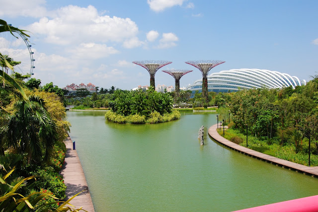Gardens By The Bay w Singapurze