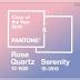 As cores do ano de 2016: Rose Quartz e Serenity - Pantone