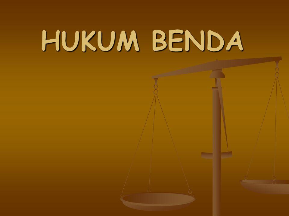 Makalah Hukum Kebendaan Makalah Bahasa Indonesia