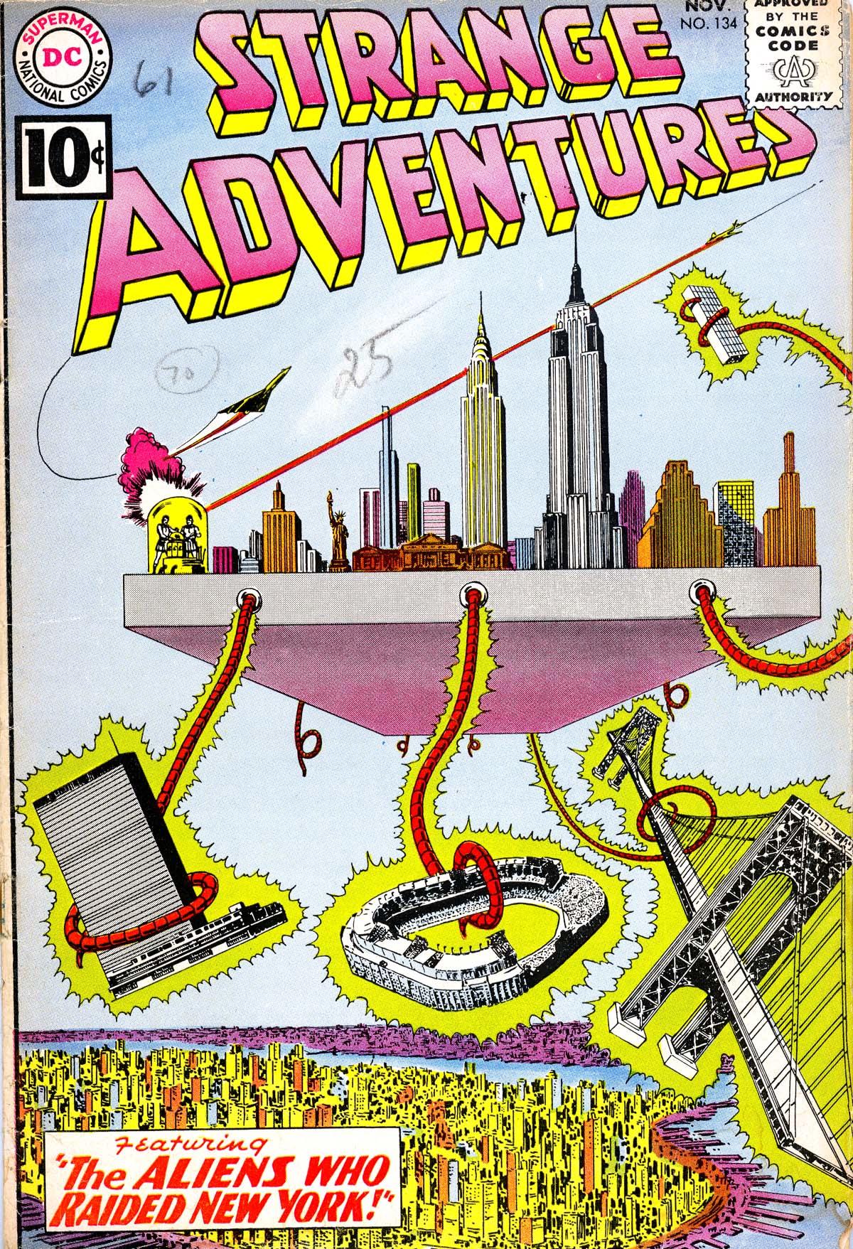 Strange Adventures (1950) issue 134 - Page 1