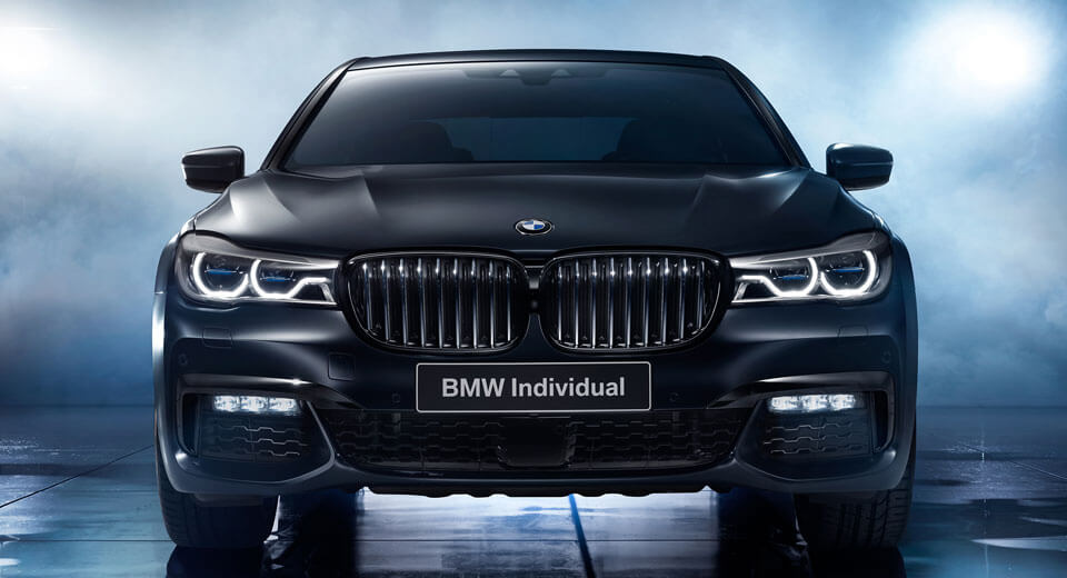bmw individual murders out special 7 series black ice. Black Bedroom Furniture Sets. Home Design Ideas
