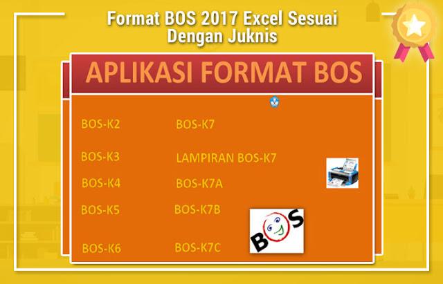 Format BOS 2017 Excel Sesuai Dengan Juknis