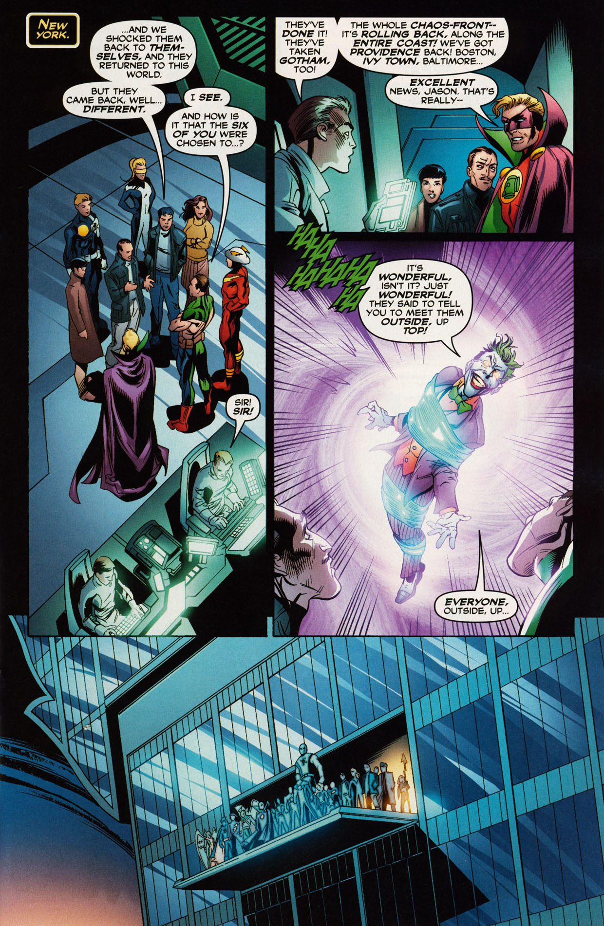 Read online Trinity (2008) comic -  Issue #42 - 13