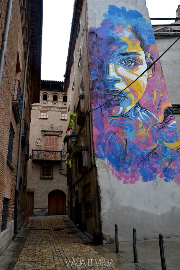 Street art en Tudela, Navarra. Viajaetverba
