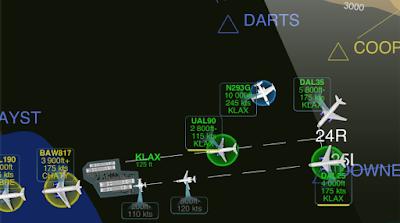 Juego de control aéreo