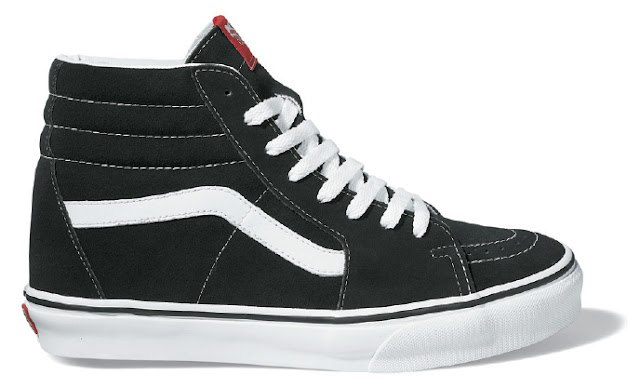 Vans SK-Hi Black R$ 349,99