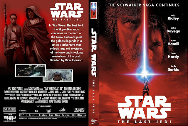 Star Wars: Episode VIII - The Last Jedi DVD Cover