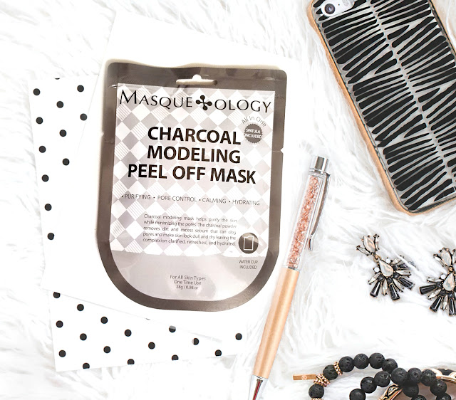 The best Charcoal masks Masqueology, the Charcoal Modeling Peel Off Mask by Barbies Beauty Bits