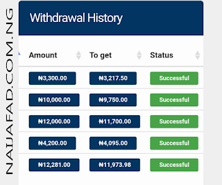 Withdrawal-History