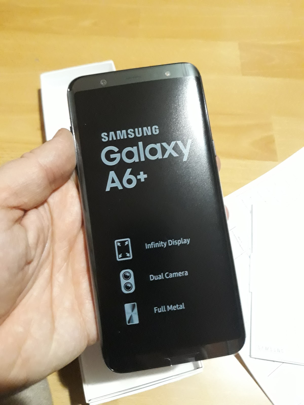 My opinion about Samsung Galaxy A6+