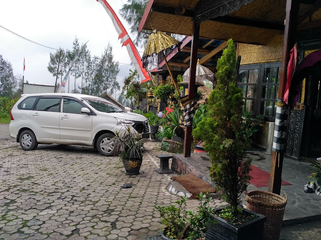 Hotel at mount Bromo