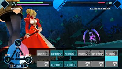 Foranimeku - Fate Extra PSP PPSSPP