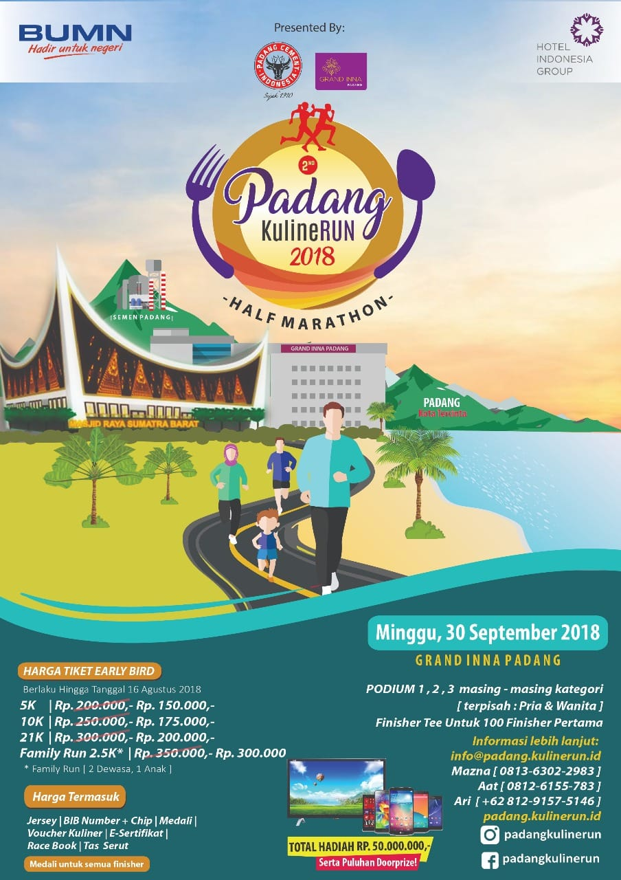Padang KulineRun • 2018