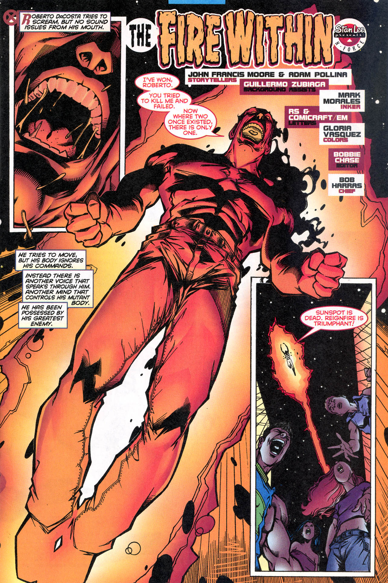 Read online X-Force (1991) comic -  Issue #80 - 6