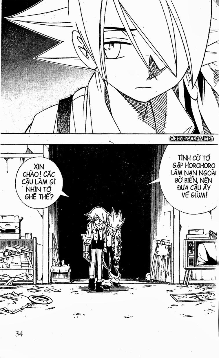 Shaman King [Vua pháp thuật] chap 186 trang 9