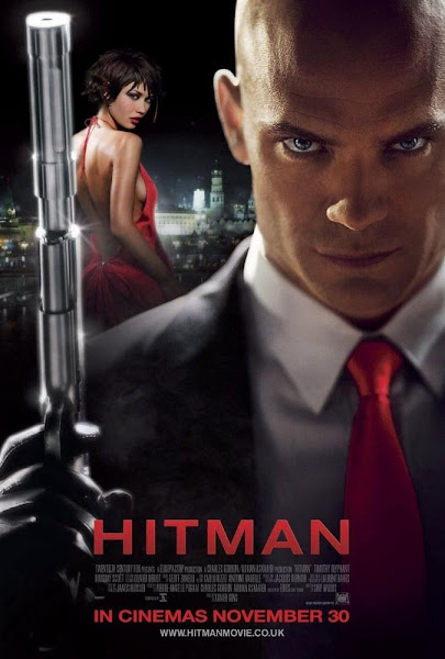 Poster of Hitman 2007 UnRated 720p-English-BluRay-x264-ESubs Download
