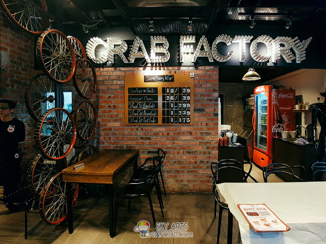 Crab Factory SS2 Restaurant Interior