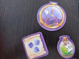 Zauberei hoch drei Brettspiel