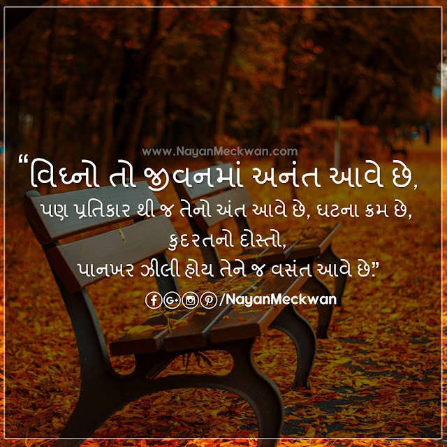 Vigno Best Motivational Best Gujarati Inspirational Picture Quote | Suvichar । ગુજરાતી સુવિચાર