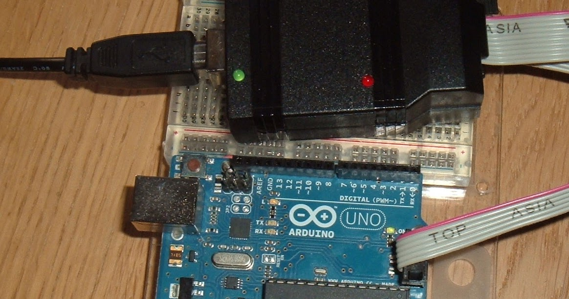 Tynemouth Software: Arduino revival with EPROM programmer