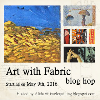 Art with Fabric Blog Hop