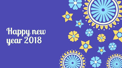 Happy New Year 2018 Calendar Download Free Full HD